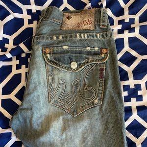 MEK jeans size 32W 34L